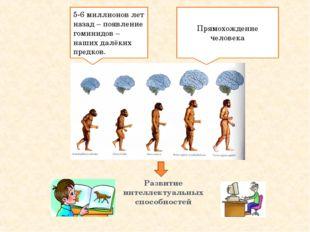 Развитие интеллектуальных способностей 5-6 миллионов лет назад – появление го