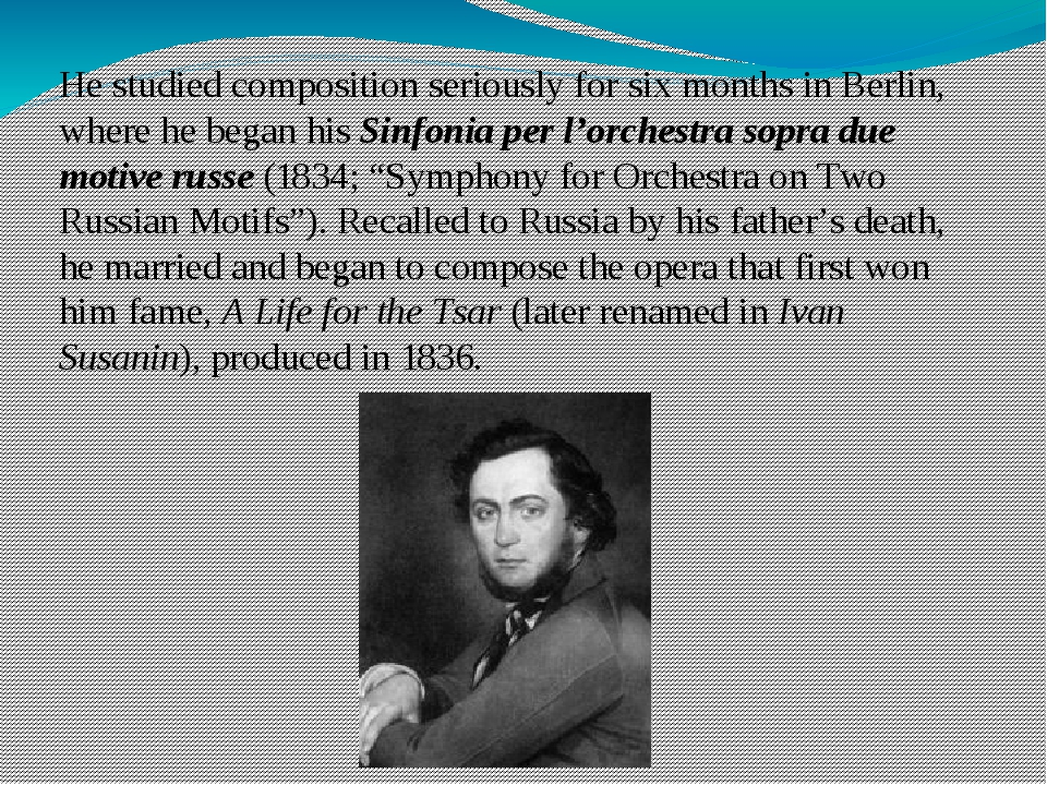 He studied composition seriously for six months in Berlin, where he began his...