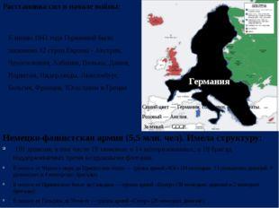 К июню 1941 года Германией было захвачено 12 стран Европы - Австрия, Чехослов