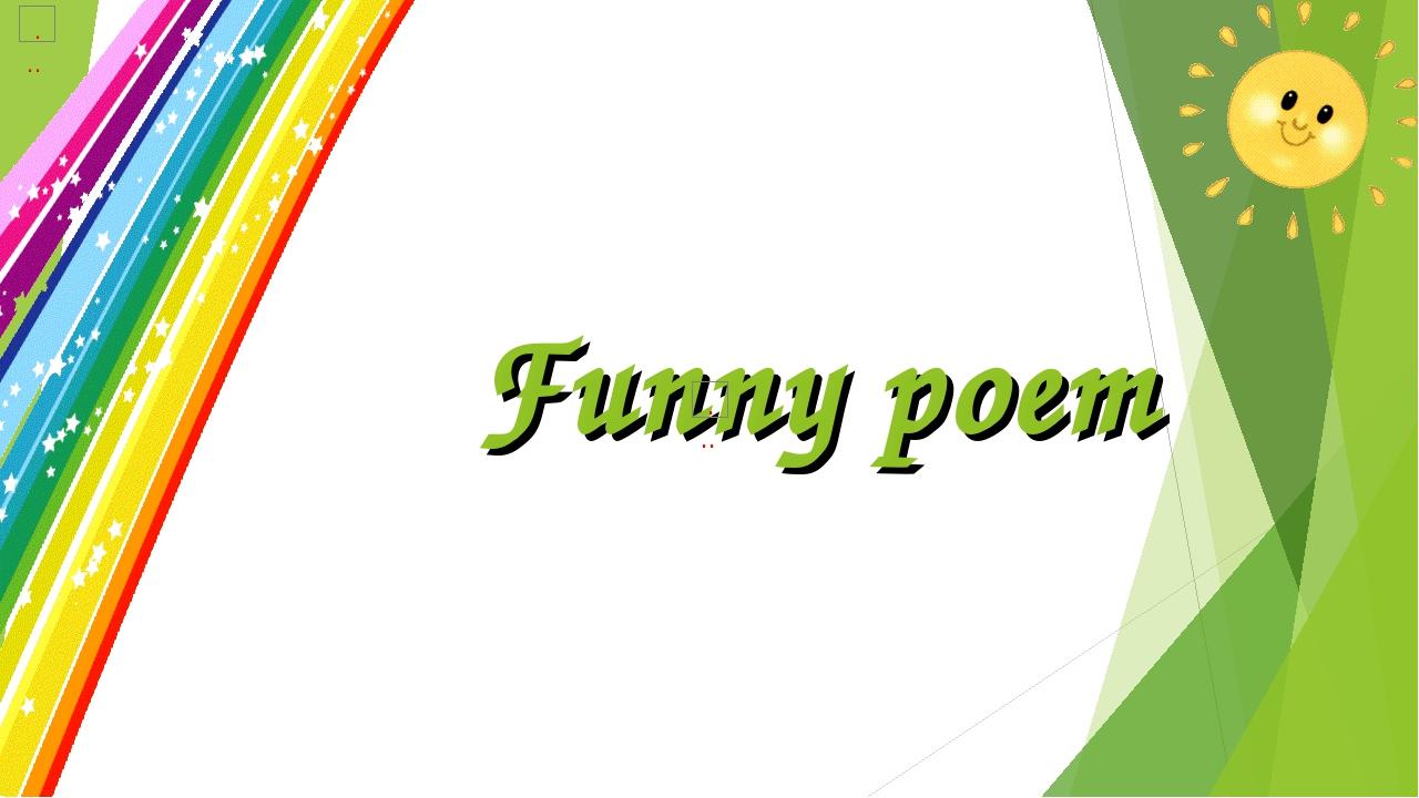 Funny poem