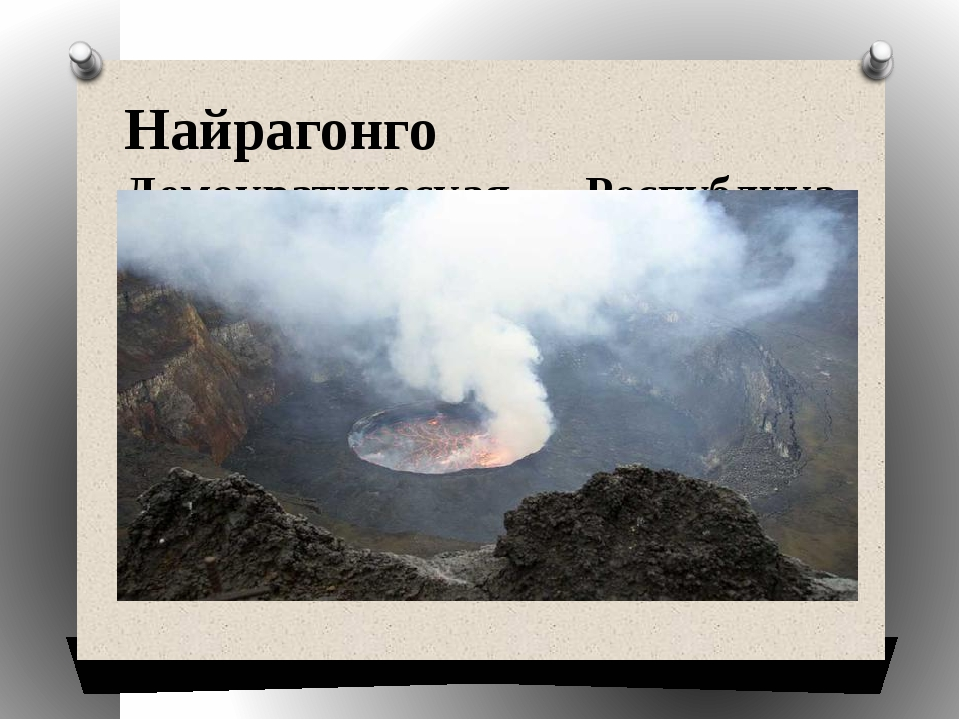 Найрагонго Демократическая Республика Конго