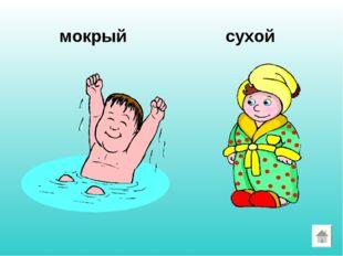 мокрый сухой
