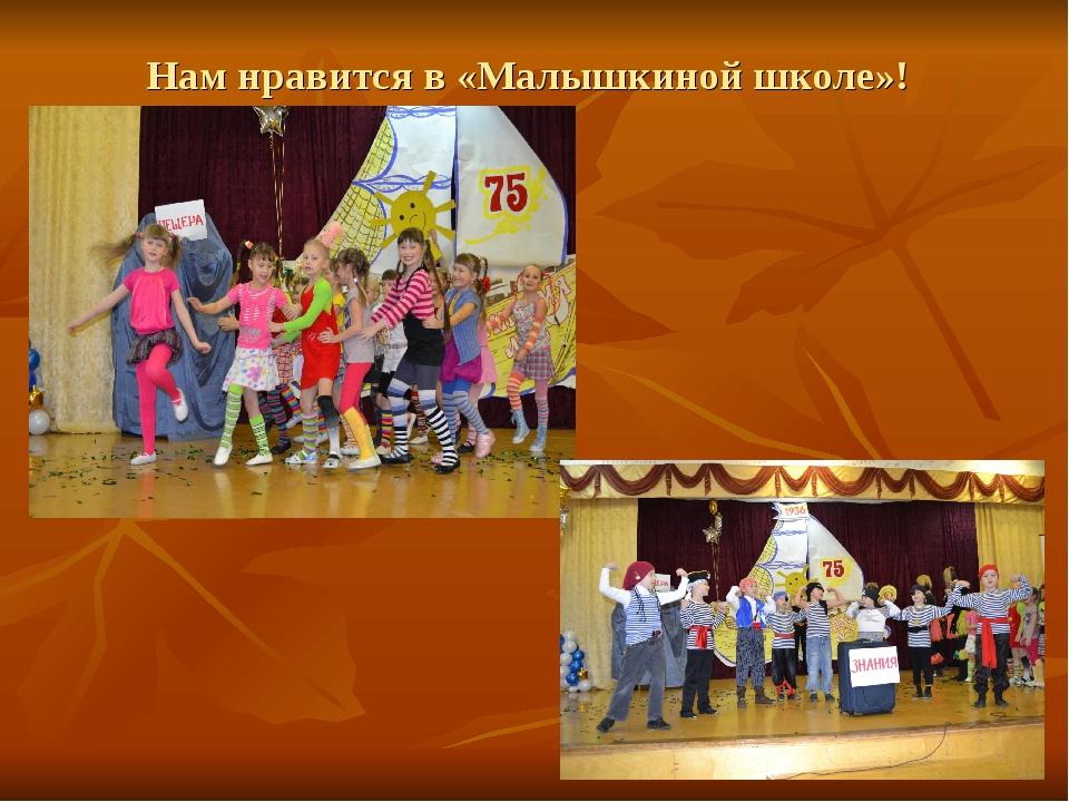 Нам нравится в «Малышкиной школе»!