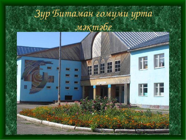 Зур Битаман гомуми урта мәктәбе