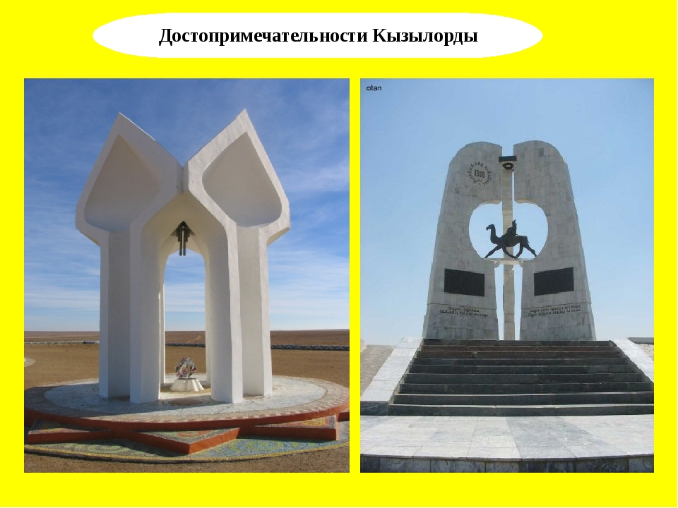 Достопримечательности Кызылорды