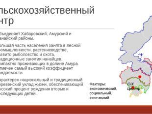 Сельскохозяйственный Центр Объединяет Хабаровский, Амурский и Нанайский район