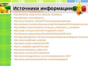 Источники информации http://biohim.net/tag/organy http://erokina.volsk-sch11.
