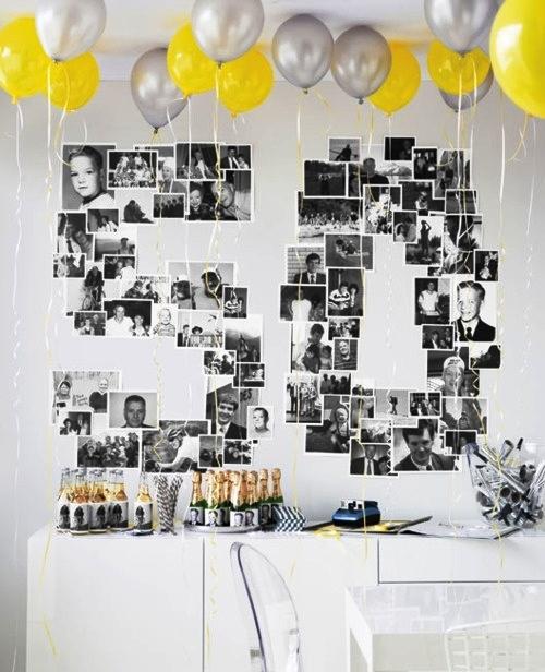 30 лет оформление дня рождения своими руками 22