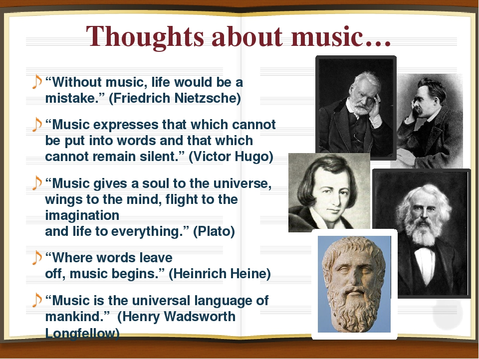 "Thoughts about music… ""Without music, life would be a mistake."" (Friedrich Ni..."