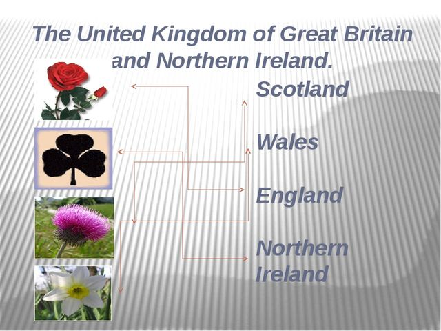 Scotland Wales England Northern Ireland The United Kingdom of Great Britain a...