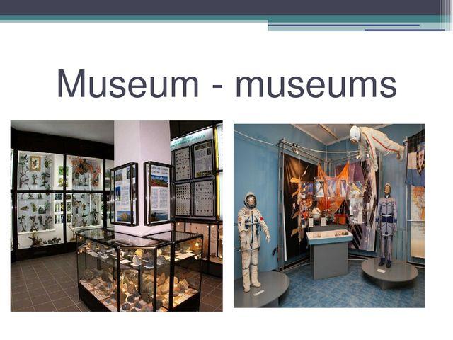 Museum - museums