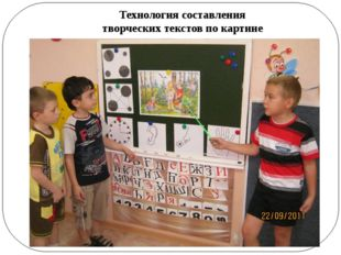 Технология составления творческих текстов по картине
