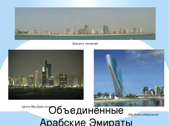 Объединённые Арабские Эмираты Шарджа, панорама Музей Ислама Центр Абу-Даби но...