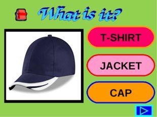 T-SHIRT JACKET CAP
