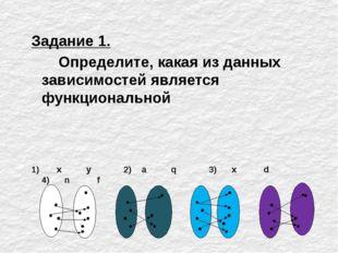 1) D(аx) = R. 2) E(аx)= R+ 3) Ось ОХ- нет (нулей функции нет) Ось ОУ-(0;1) 4