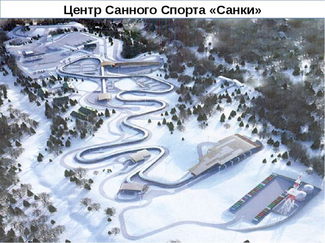 Центр Санного Спорта «Санки»