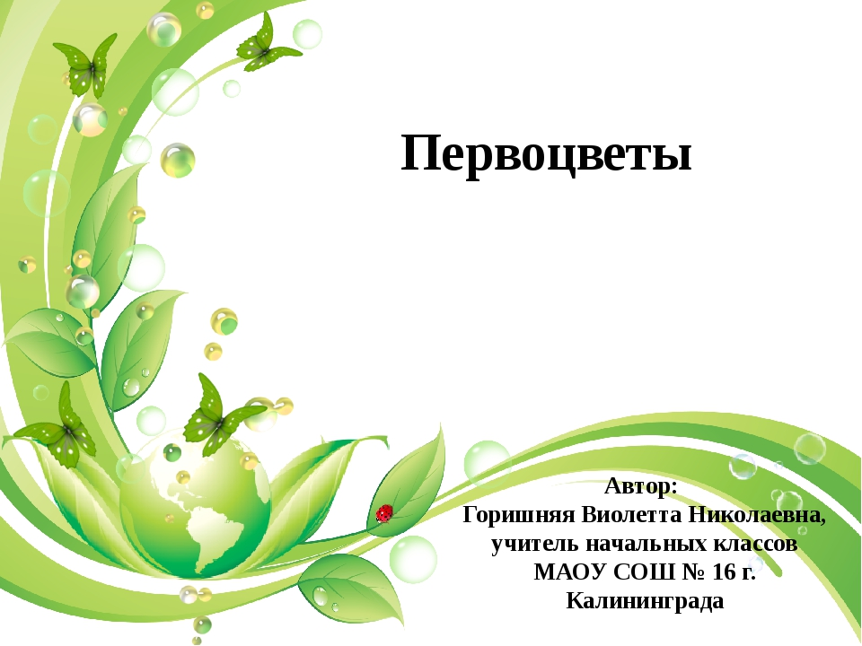 Автор: Горишняя Виолетта Николаевна, учитель начальных классов МАОУ СОШ № 16...