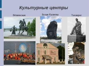 Культурные центры Вёшенская Белая Калитва Таганрог