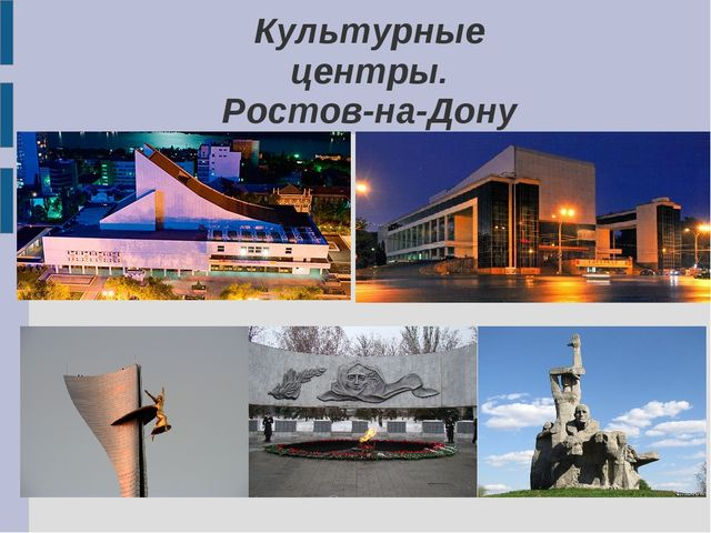 Культурные центры. Ростов-на-Дону
