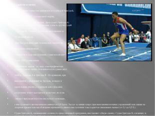 """Судейство и оценка Выступления гимнастов оцениваются судейской бригадой, """"об"""