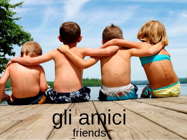 gli amici friends