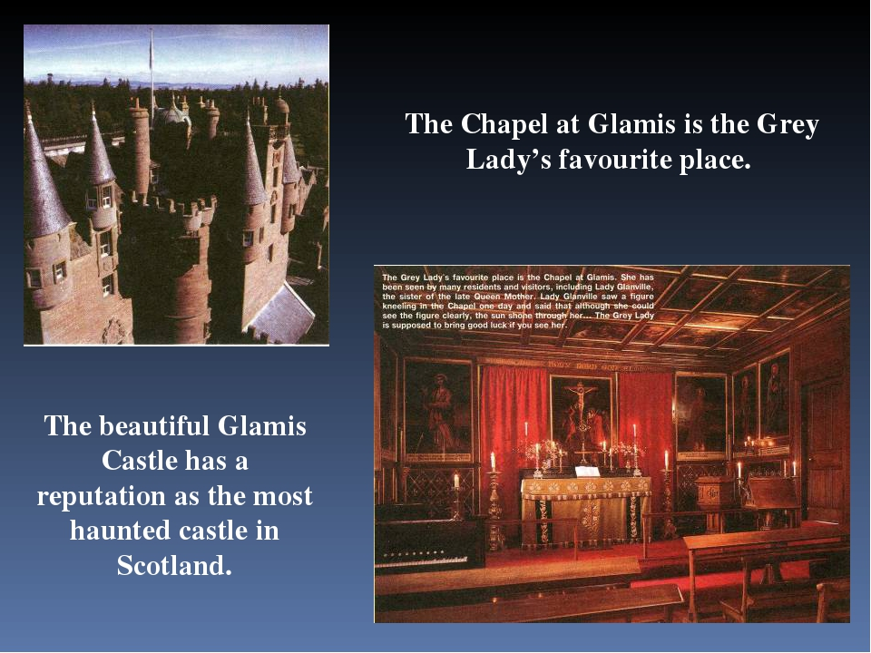 The beautiful Glamis Castle has a reputation as the most haunted castle in Sc...