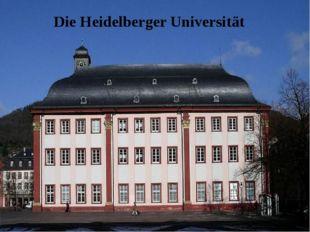Die Heidelberger Universität