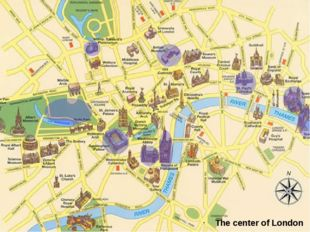 The center of London
