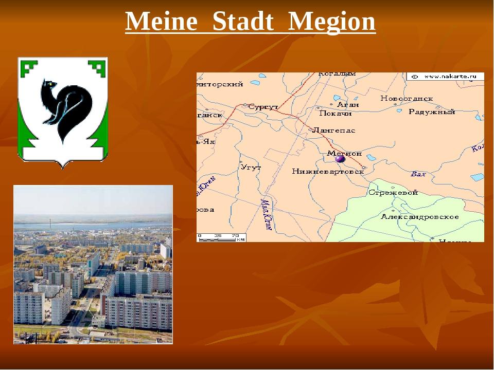 Meine Stadt Megion