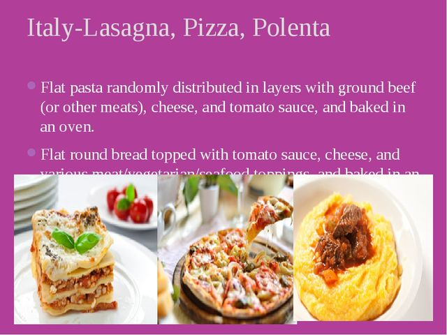 Flat pasta randomly distributed in layers with ground beef (or other meats),...