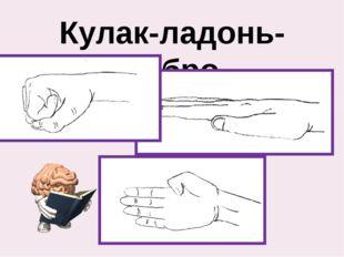 Кулак-ладонь-ребро