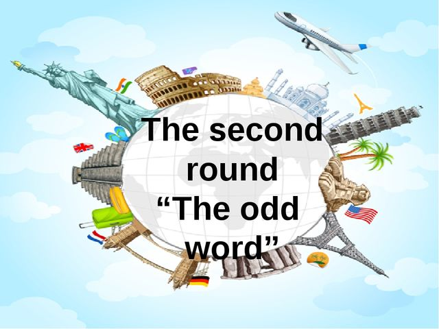 "The second round ""The odd word"""