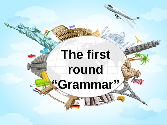 "The first round ""Grammar"""