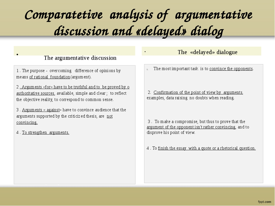 delayed thesis arguments