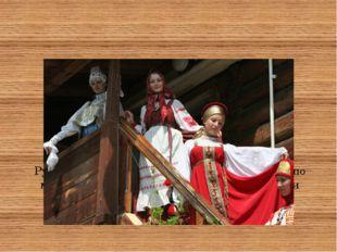 Русский женский и девичий народный костюм по мотивам Рязанской, Нижегородской