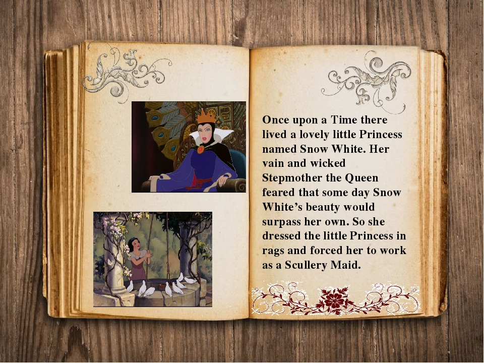 Once upon a Time there lived a lovely little Princess named Snow White. Her v...