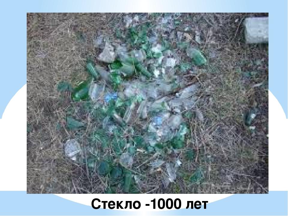 Стекло -1000 лет