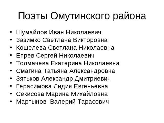 Шумайлов Иван Николаевич Шумайлов Иван Николаевич Зазимко Светлана Викторов...