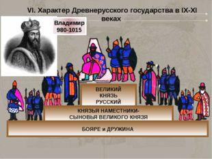 ВЕЛИКИЙ КНЯЗЬ РУССКИЙ КНЯЗЬЯ НАМЕСТНИКИ- СЫНОВЬЯ ВЕЛИКОГО КНЯЗЯ БОЯРЕ и ДРУЖИ