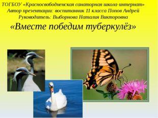 ТОГБОУ «Красносвободненская санаторная школа-интернат» Автор презентации: вос