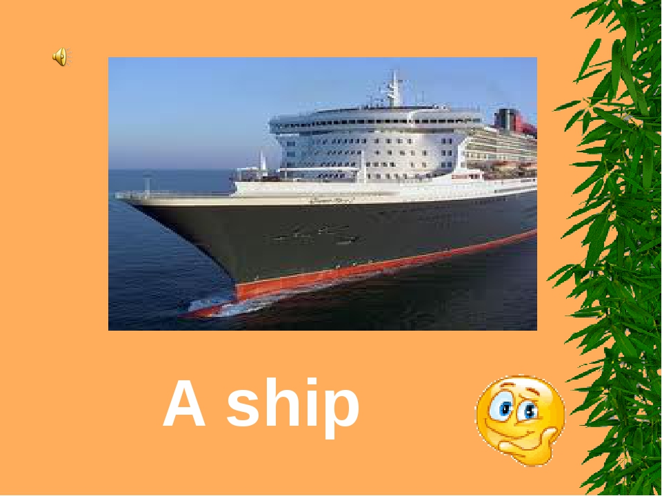 A ship