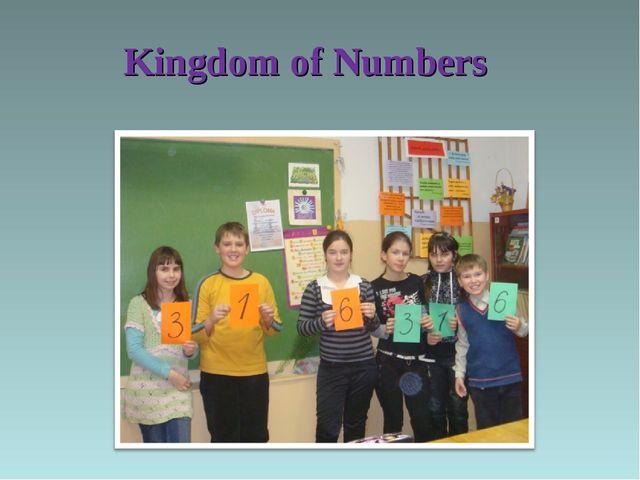 Kingdom of Numbers