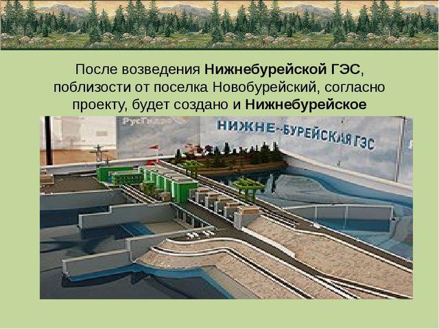 После возведения Нижнебурейской ГЭС, поблизости от поселка Новобурейский, сог...