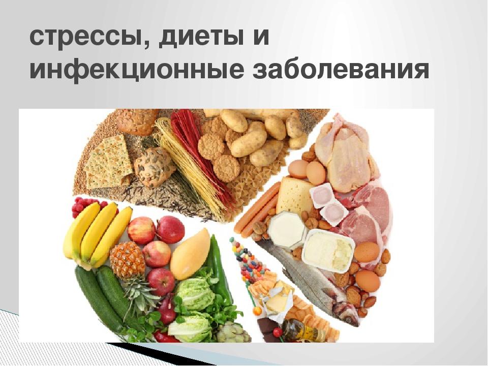 стрессы, диеты и инфекционные заболевания