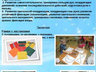 Проведение развивающих занятий на развитие восприятия и сенсомоторики у детей