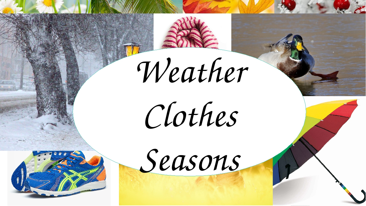 Weather Clothes Seasons