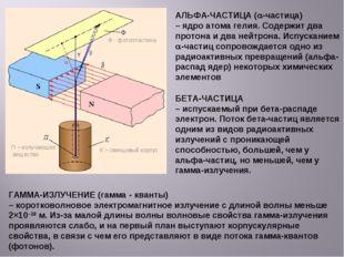АЛЬФА-ЧАСТИЦА (a-частица) – ядро атома гелия. Содержит два протона и два нейт