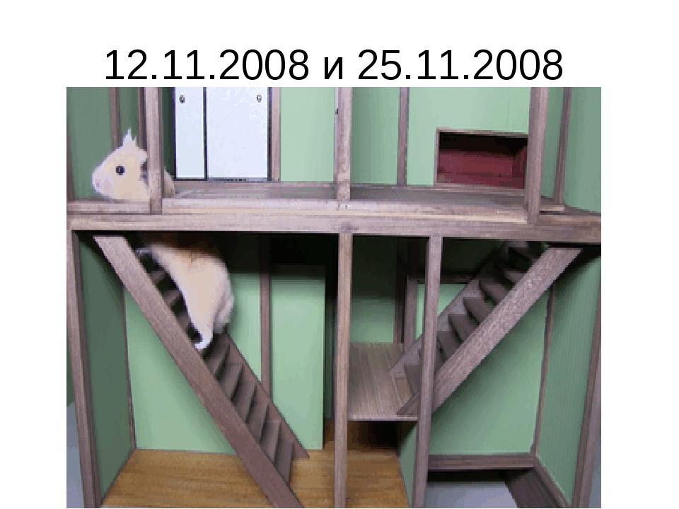 12.11.2008 и 25.11.2008