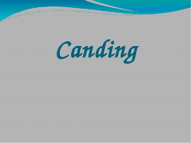Canding