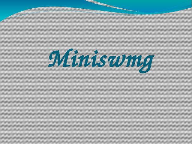 Miniswmg